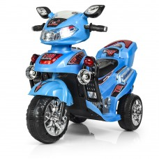 Детский мотоцикл Bambi M 0562-4 Honda, голубой