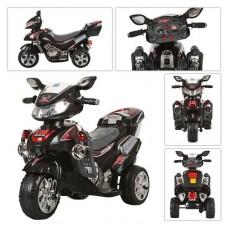 Детский мотоцикл Bambi M 0562 Honda, черный