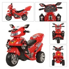 Детский мотоцикл Bambi M 0563 Honda, красный