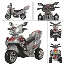 Детский мотоцикл Bambi M 0564 Honda, серый