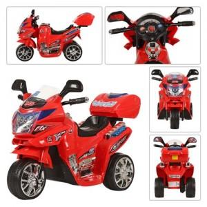 Детский мотоцикл Bambi M 0566 Honda, красный