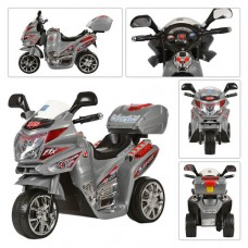 Детский мотоцикл Bambi M 0567 Honda, серый