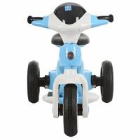 Детский мотоцикл Bambi M 3296 L-4, голубой