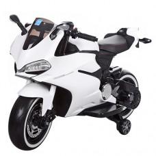 Детский мотоцикл Bambi M 3467EL-1 Honda, белый