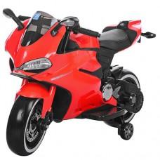 Детский мотоцикл Bambi M 3467EL-3 Honda, красный