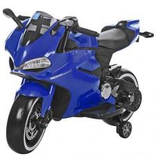Детский мотоцикл Bambi M 3467EL-4 Honda, синий