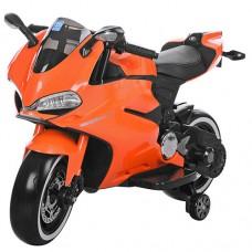 Детский мотоцикл Bambi M 3467EL-7 Honda, оранжевый