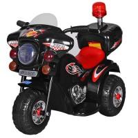 Детский мотоцикл Bambi M 3576-2 Police, черный