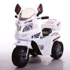 Детский мотоцикл Bambi M 3577-1, белый