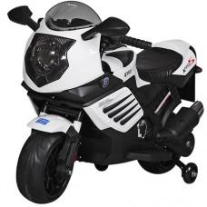 Детский мотоцикл Bambi M 3578 EL-1, белый