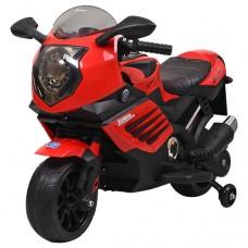 Детский мотоцикл Bambi M 3578 EL-3, красный