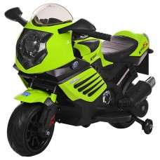 Детский мотоцикл Bambi M 3578 EL-5, зеленый