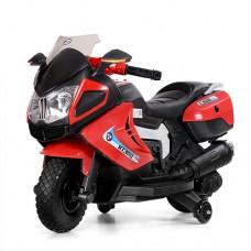 Детский мотоцикл Bambi M 3625 EL-3 BMW, красный