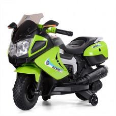 Детский мотоцикл Bambi M 3625 EL-5 BMW, зеленый