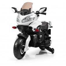 Детский мотоцикл Bambi M 3630 EL-1 BMW, белый