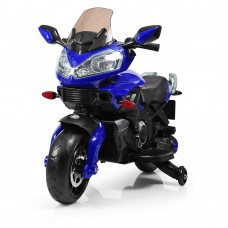 Детский мотоцикл Bambi M 3630 EL-4 BMW, синий