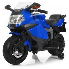 Детский мотоцикл Bambi M 3636 EL-4 BMW, синий