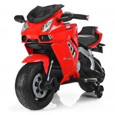Детский мотоцикл Bambi M 3637 EL-3 Lamborghini, красный