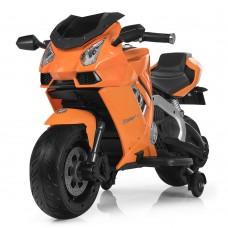 Детский мотоцикл Bambi M 3637 EL-7 Lamborghini, оранжевый