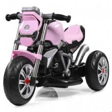 Детский мотоцикл Bambi M 3639-8 BMW, розовый