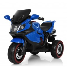 Детский мотоцикл Bambi M 3680 L-4, синий