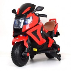 Детский мотоцикл Bambi M 3681 AL-3 BMW, красный