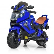 Детский мотоцикл Bambi M 3681 AL-4 BMW, синий