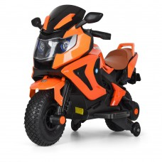 Детский мотоцикл Bambi M 3681 ALS-7 BMW, оранжевый