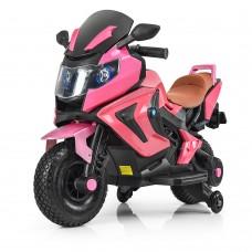 Детский мотоцикл Bambi M 3681 ALS-8 BMW, розовый
