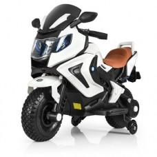 Детский мотоцикл Bambi M 3681 EL-1 BMW, белый