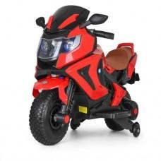 Детский мотоцикл Bambi M 3681 EL-3 BMW, красный