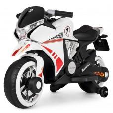 Детский мотоцикл Bambi M 3682 L-1 BMW, белый