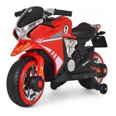 Детский мотоцикл Bambi M 3682 L-3 BMW, красный