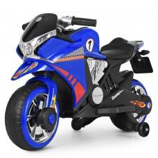 Детский мотоцикл Bambi M 3682 L-4 BMW, синий