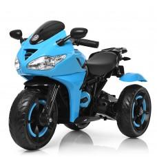 Детский мотоцикл Bambi M 3683 L-4 BMW, синий