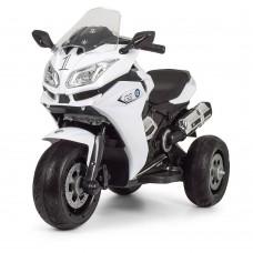 Детский мотоцикл Bambi M 3688 EL-1 BMW, белый