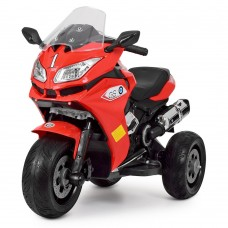 Детский мотоцикл Bambi M 3688 EL-3 BMW, красный