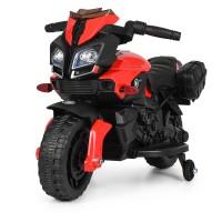 Детский мотоцикл Bambi M 3832 L-2-3 BMW, черно-красный