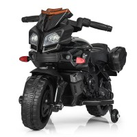 Детский мотоцикл Bambi M 3832 LS-2 BMW, черный