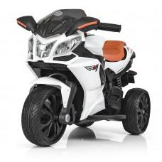 Детский мотоцикл Bambi M 3912 EL-1 BMW, белый