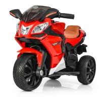 Детский мотоцикл Bambi M 3912 EL-3 BMW, красный