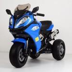Детский мотоцикл Bambi M 3913 EL-4 BMW, синий