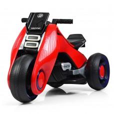 Детский мотоцикл Bambi M 3926-3, красный