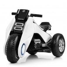 Детский мотоцикл Bambi M 3926A-1, белый