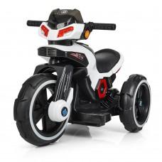 Детский мотоцикл Bambi M 3927-1 BMW, белый