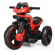 Детский мотоцикл Bambi M 3927-3 BMW, красный