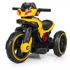 Детский мотоцикл Bambi M 3927-6 BMW, желтый