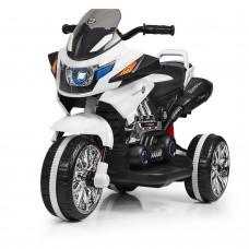 Детский мотоцикл Bambi M 3928 L-1, черно-белый