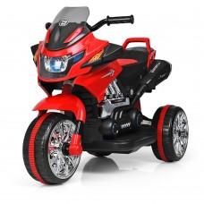 Детский мотоцикл Bambi M 3928 L-3, черно-красный