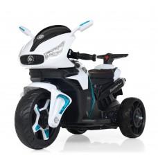 Детский мотоцикл Bambi M 3965 EL-1 BMW, белый